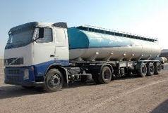 توقیف تریلر حامل 27 هزار لیتر سوخت قاچاق در البرز