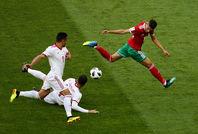 دیدار تیمهای ملی ایران و مراکش  -  ۱