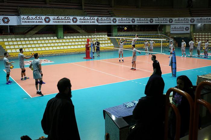 پایان دور گروهی والیبال دسته اول جوانان  کشور در قزوین