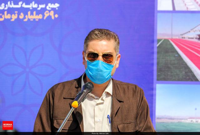 پیست اسکیت ۲۲ بهمن بعد از پانزده سال افتتاح شد