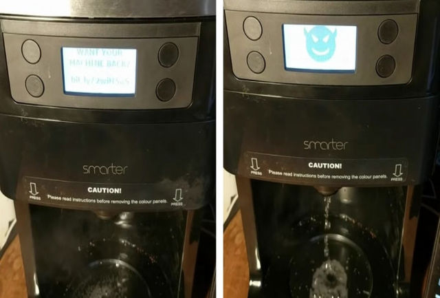 یک هکر دستگاه قهوه ساز را هک کرد