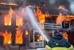 آتش سوزی در مدرسه پسرانه سماء زاهدان