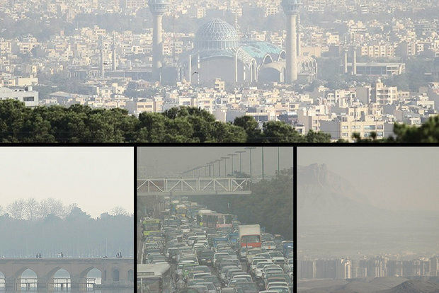 هوای اصفهان در وضعیت زرد قرار دارد