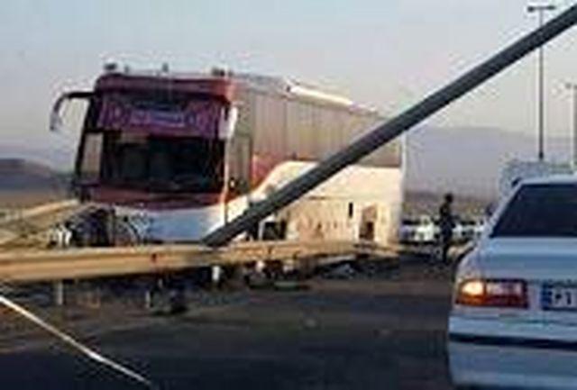 2 تصادف در جاده سمنان - دامغان با 6 مصدوم
