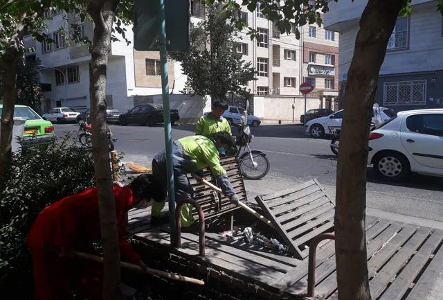 طرح ویژه لایروبی در معابر مرکزی شهر تهران آغاز شد