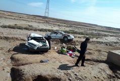 تصادف مرگبار با ۵ کشته و زخمی در جاده شادگان - دارخوین