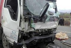 سه کشته بر اثر برخورد کامیون با پژو پارس
