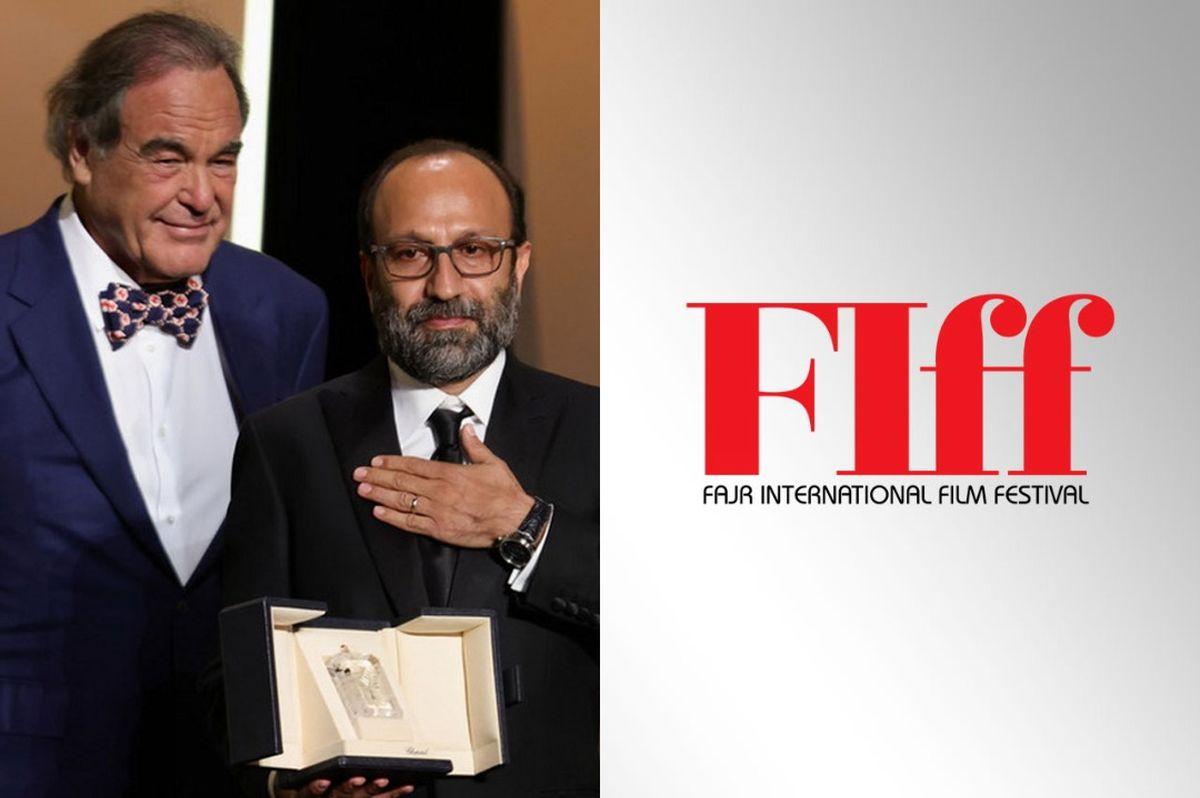 تبریک دبیر جشنواره جهانی فیلم فجر برای موفقیت اثر تازه فرهادی در کن
