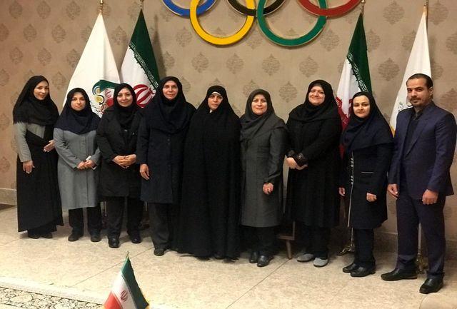 هشتمین نشست کمیسیون زنان ورزش برگزار شد