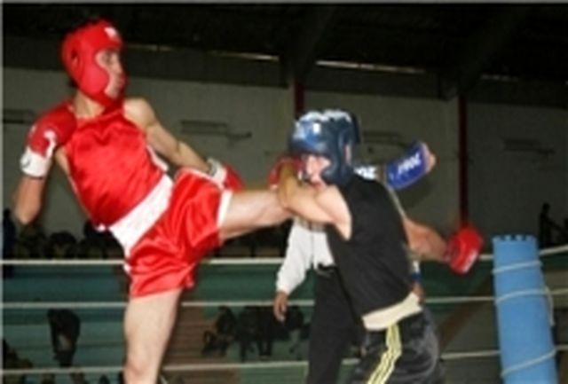 لرستان قهرمان مسابقات کیگ بوکسینگ کشور شد