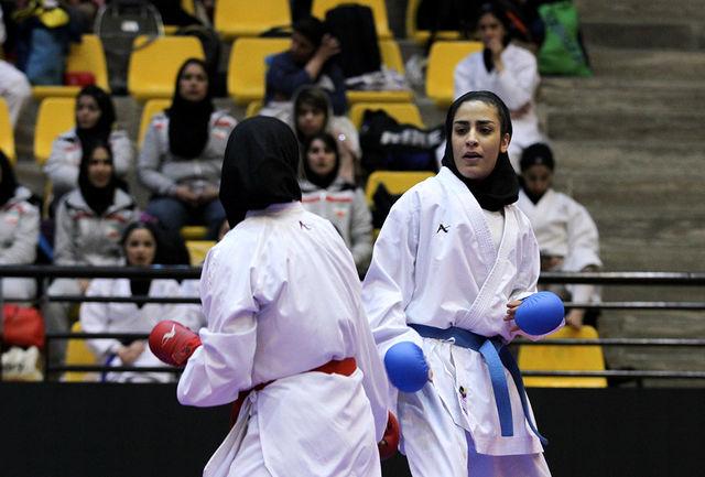 دو نشان نقره و برنز سهم تیم کردستان در لیگ کاراته وان کشور