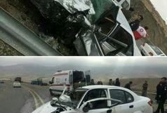 5 فوتی در 2 حادثه امروز جاده هراز