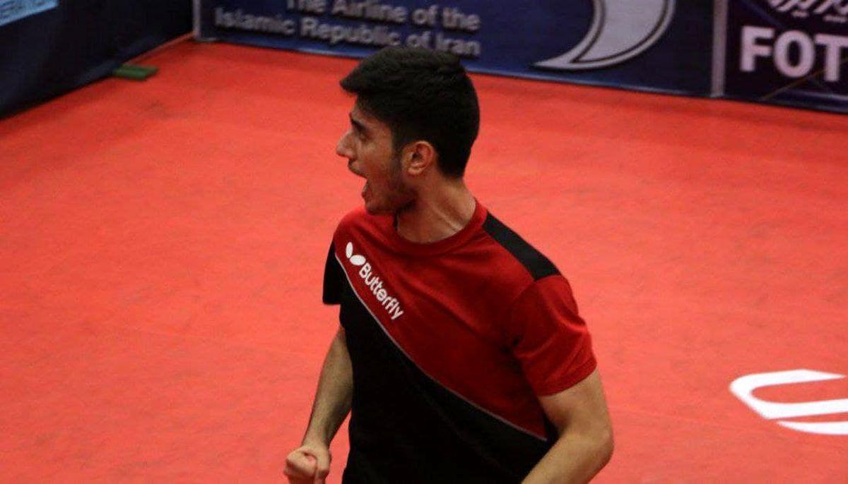 پینگپنگباز کردستانی عضو تیم ملی تنیسروی میز جوانان کشور شد