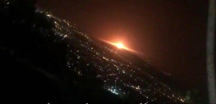 انفجار در شمال تهران