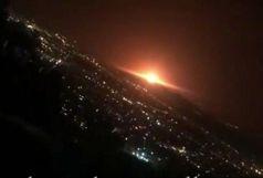 منشا صدای انفجار در شرق تهران مشخص شد