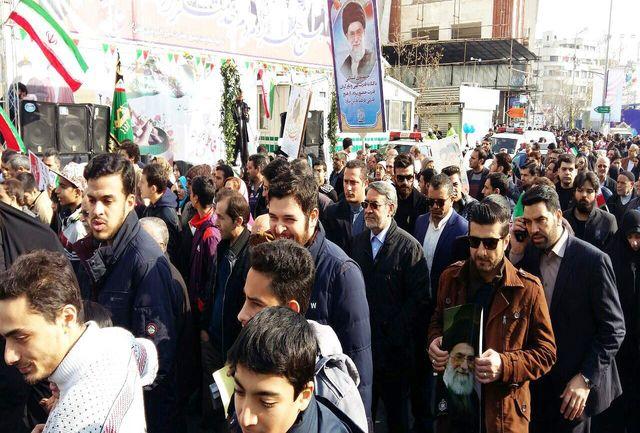 رحمانی فضلی در سالگرد پیروزی انقلاب اسلامی شرکت کرد