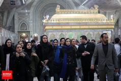 دختر شگفتیساز آسیا در حرم امام خمینی (ره)