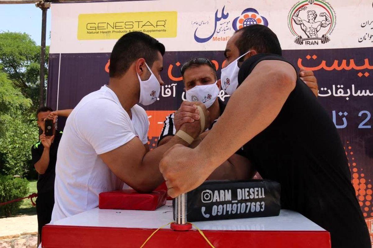 گلستان در رقابت های مچ اندازی کشور جایگاه نخست را کسب کرد