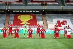 حرکت عجیب ستاره پرسپولیس با جام قهرمانی! + عکس