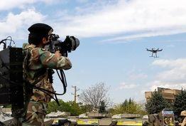 جدیدترین تسلیحات نیروهای مسلح برای مقابله با پهپادهای مزاحم/ پرندههای انتحاری داعش اینگونه شکار خواهند شد