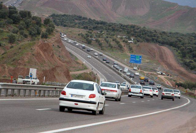 اعمال محدودیت های ترافیکی  در جاده رشت – قزوین و آستارا – اردبیل