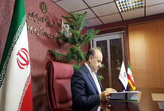 سلطانیفر، قالیباف جام جهانی شد+عکس