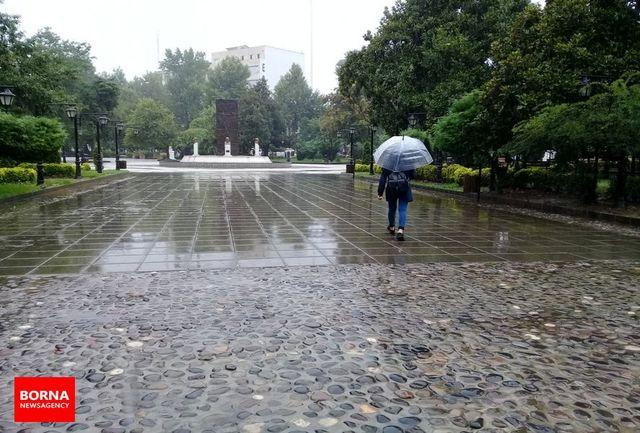 کدام استانهای کشور شاهد بارندگی هستند؟