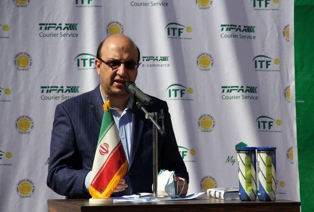 برگزاری رویدادهای بینالمللی تنیس در کشور به رشد و پیشرفت این رشته کمک شایانی میکند