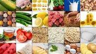 تغییرات قیمت کالاهای خوراکی در مرداد ١٤٠٠
