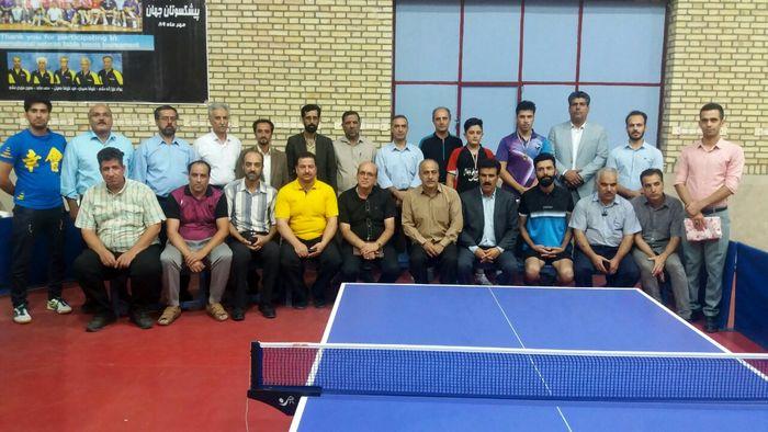 قهرمانی امیرحسین عباسپور فرد، در مسابقات جایزه بزرگ تنیس روی میز شرق کشور