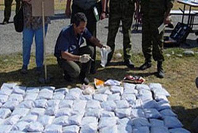 انهدام شبکه بزرگ قاچاق مواد مخدر