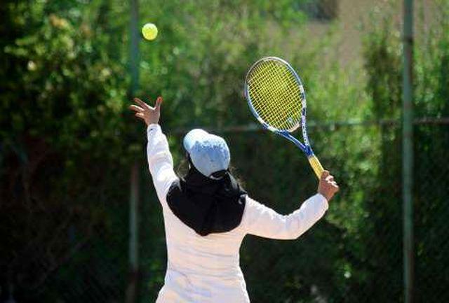 برگزاری رقابت های تنیس جام حذفی بانوان سال ۹۸ در مجموعه ورزشی چهار باغ