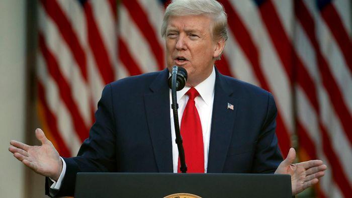 تعابیر سنگین ترامپ علیه بایدن