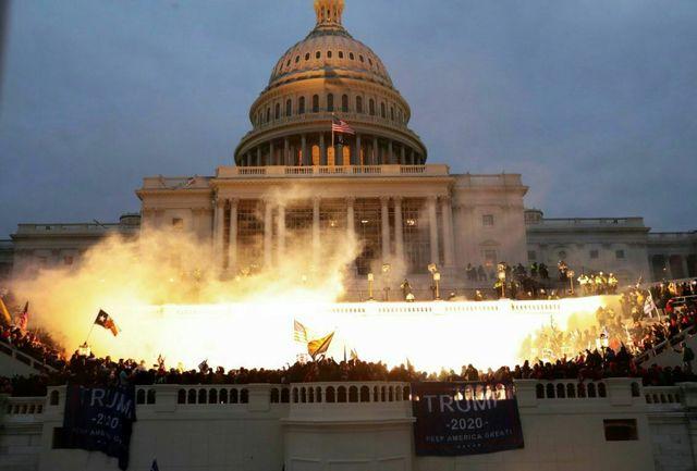 کنگره در آتش+ عکس