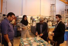 راه انداری خط تولید دستکش یک بار مصرف پلاستیکی در بندرعباس