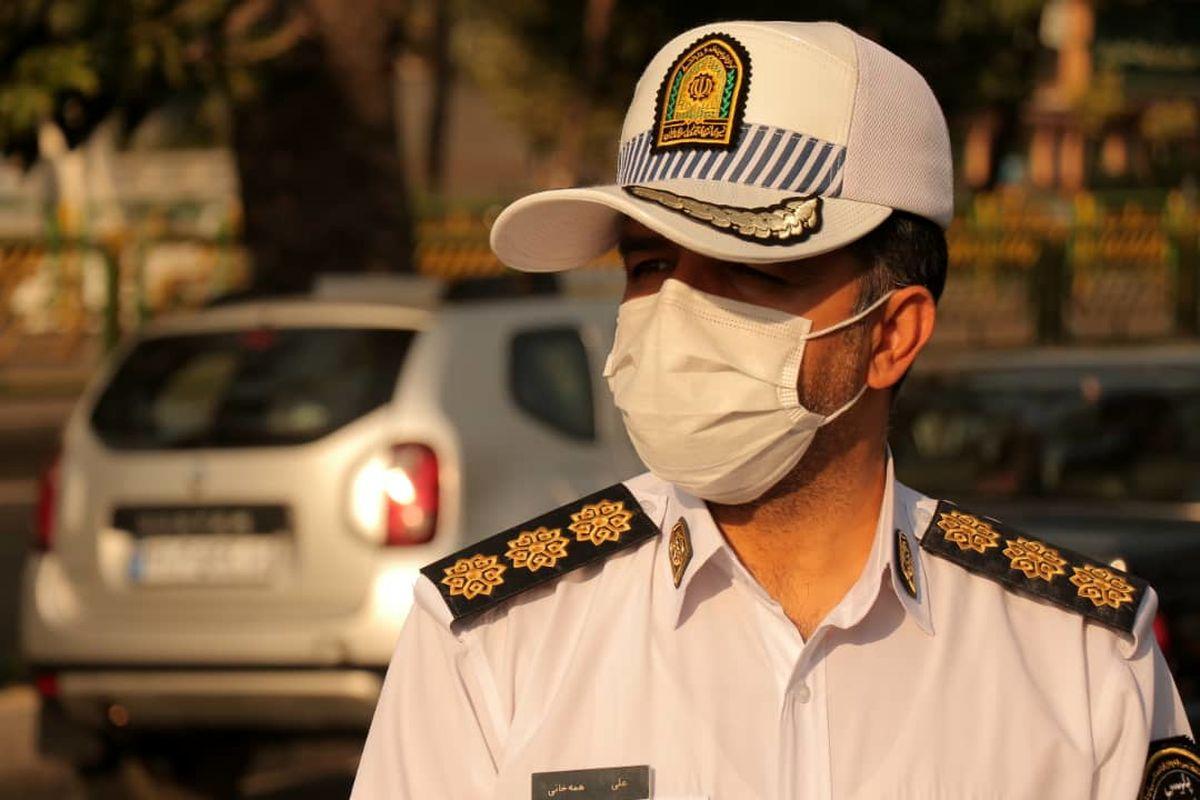 28 درصد تصادفات فوتی شهر تهران مربوط به عابرین پیاده است