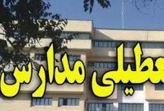 تعطیلی مدارس شهرستان کرمان در نوبت بعدازظهر