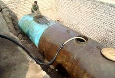 کشف سوخت قاچاق از زیرِ زمین در یک روستا!