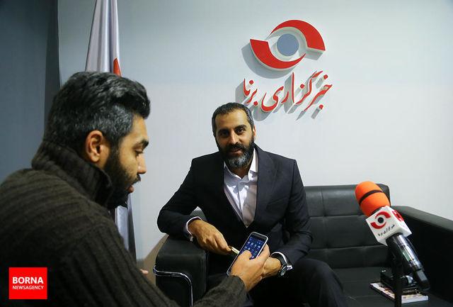 علیرام نورایی از غرفه خبرگزاری برنا دیدن کرد