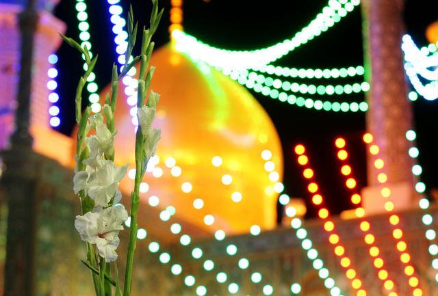 آذینبندی معابر شهر به مناسبت روز قم و سالروز ورود حضرت معصومه(س)