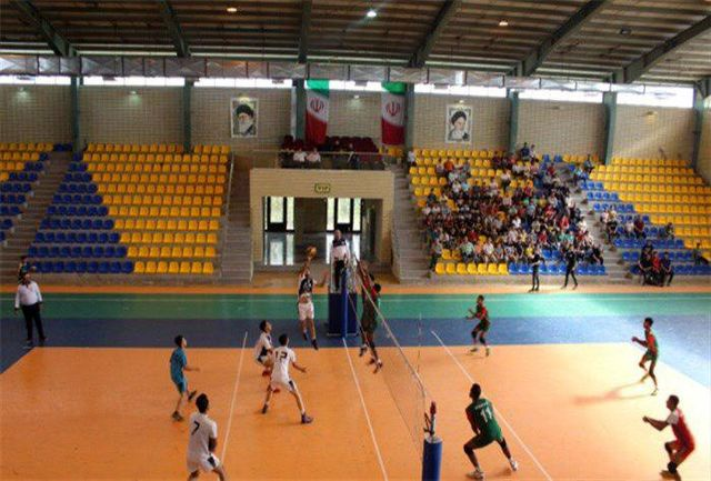 برگزاری مسابقه والیبال تیم های ملی بنگلادش و هیات بسیج اسلامشهر