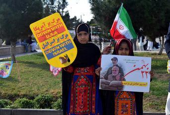 راهپیمایی ۲۲ بهمن -زاهدان