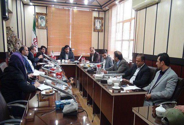 اولین جلسه کارگروه تسهیل و رفع موانع تولید شهرستان ورامین