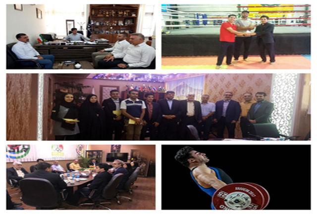 دیدار مدیرکل ورزش وجوانان با ورزشکاران ایلامی اعزامی به بازیهای جاکارتا