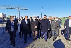 سردار باقری از بندر ایرانی سالیانکا در آستراخان روسیه بازدید کرد