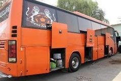 کشف کالای قاچاق از دو دستگاه اتوبوس