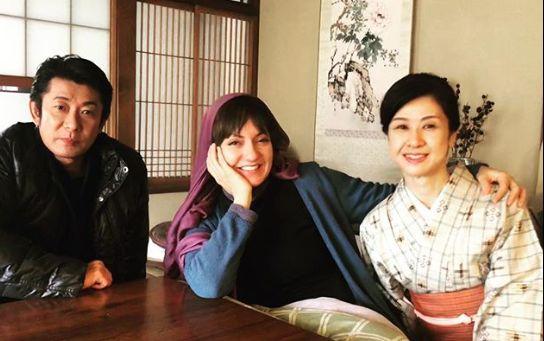 بازگشت مهناز افشار با کیمونو