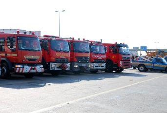 رزمایش ترافیکی طرح زمستانی قزوین