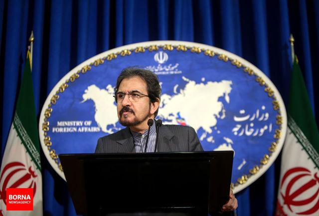 واکنش قاسمی به تشکیل جلسه شورای امنیت درباره برنامه موشکی ایران