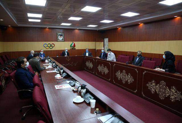 برگزاری نشست کمیسیون توسعه منابع و بازاریابی کمیته ملی المپیک